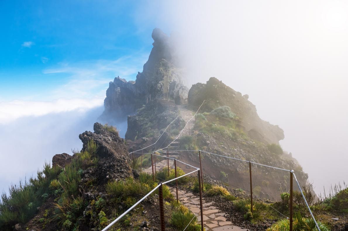 Nature wonders in Portugal - Pico Areiro in Madeira - Copyright Rusinka   - European Best Destinations