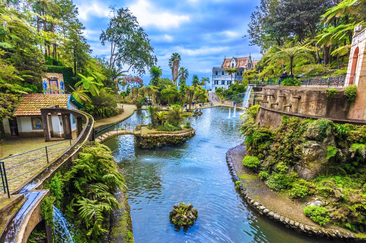 Madeira for nature lovers - tropical garden - Copyright Christian Balate