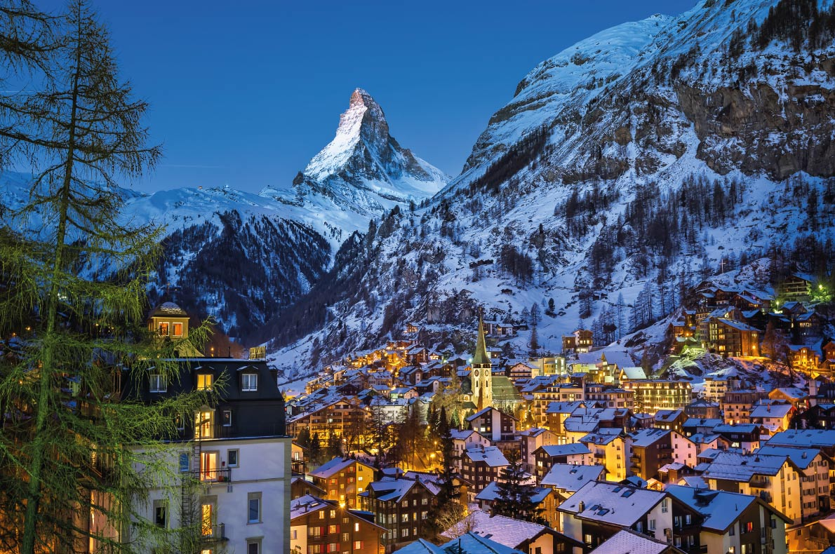 Luxurious Ski Resorts - Zermatt - Copyright  ansharphoto - European Best Destinations