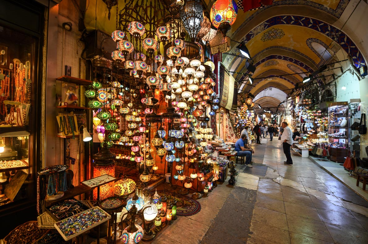 Best things to do in Turkey - Grand Bazaar Copyright Burcu Ergin shutterstock  - European Best Destinations