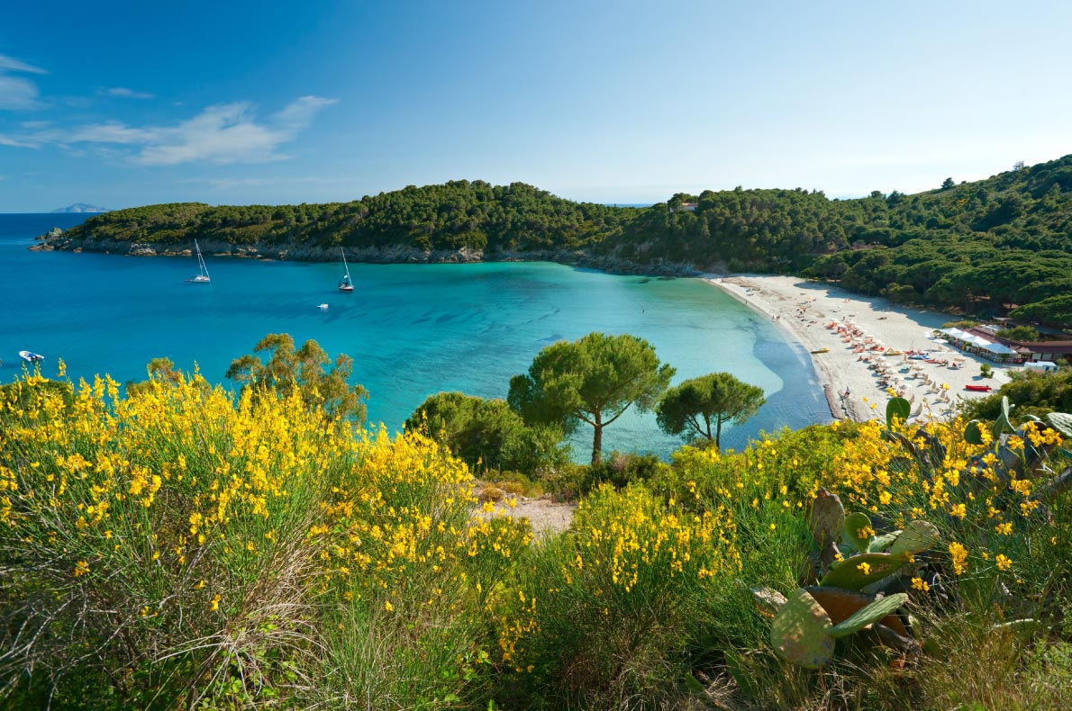 Best beaches in Italy - Fetovaia Beach, Elba Island Copyright   Luciano Mortula - LGM - European Best Destinations