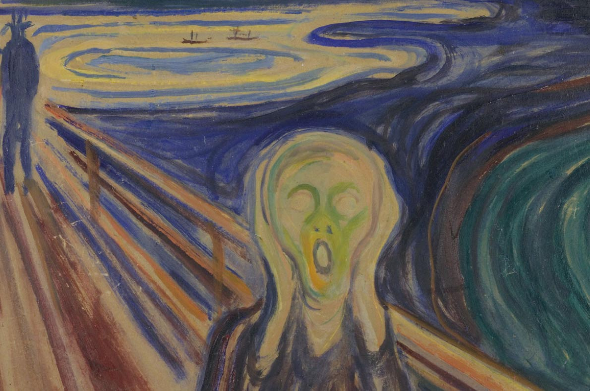 Unmissable paintings in Europe - The Scream by Edvard Munch