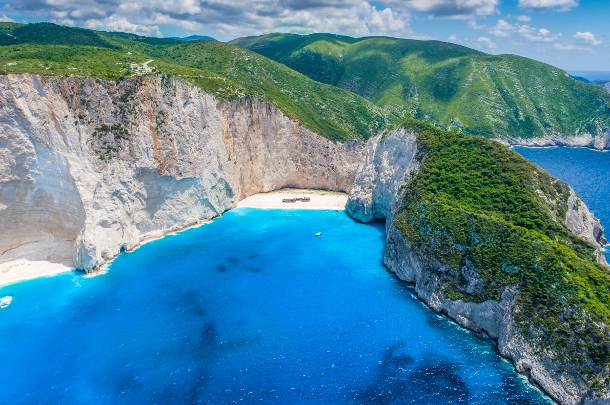Best things to do in Europe - Navagio Beach copyright  arturasker  - European Best Destinations