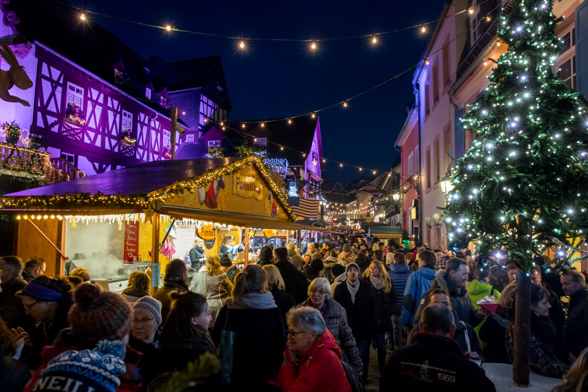 Rüdesheim Christmas Market - Copyright Eric Rehwald - European Best Destinations