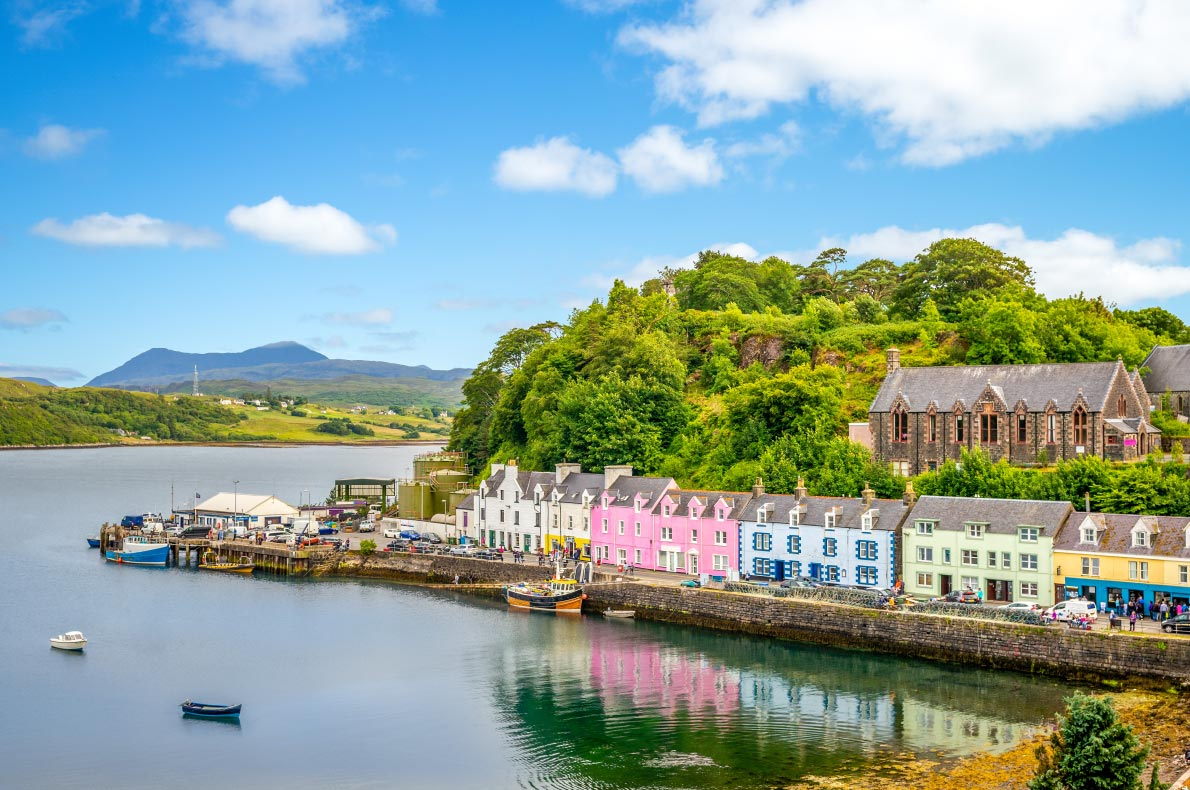 Best places to visit in Scotland - Portree  Isle of SKye copyright  Richie Chan    - European Best Destinations