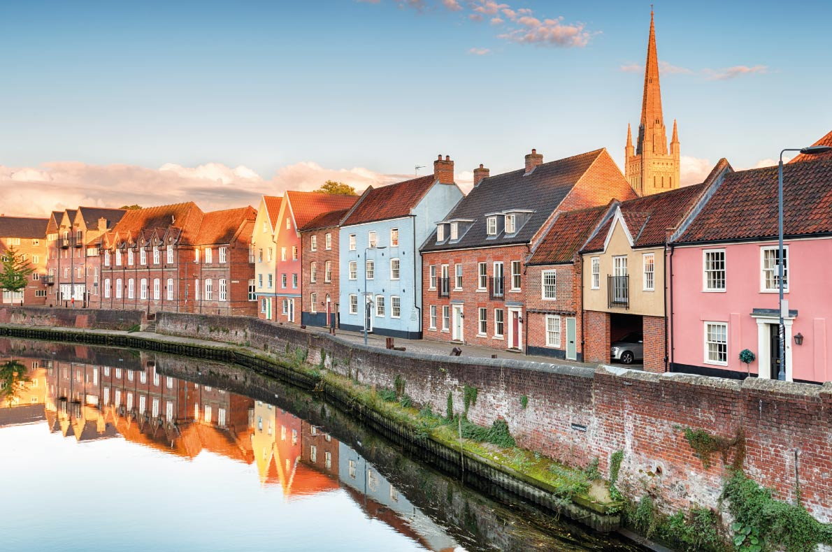 Safest destinations in Europe - Norwich Copyright Helen Hotson