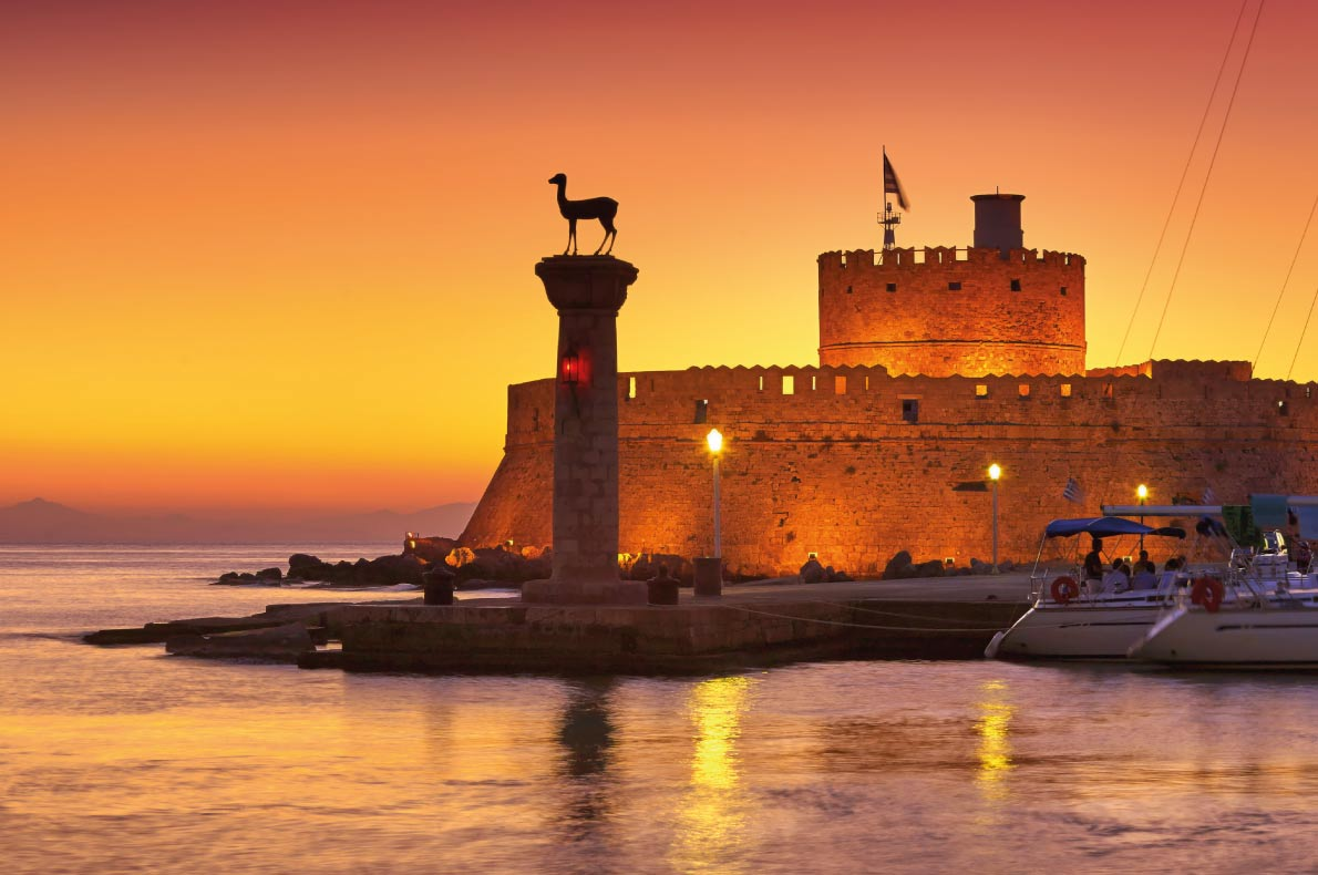 Rhodes - Best medieval destinations in Europe - Copyright John_Walker - European Best Destinations
