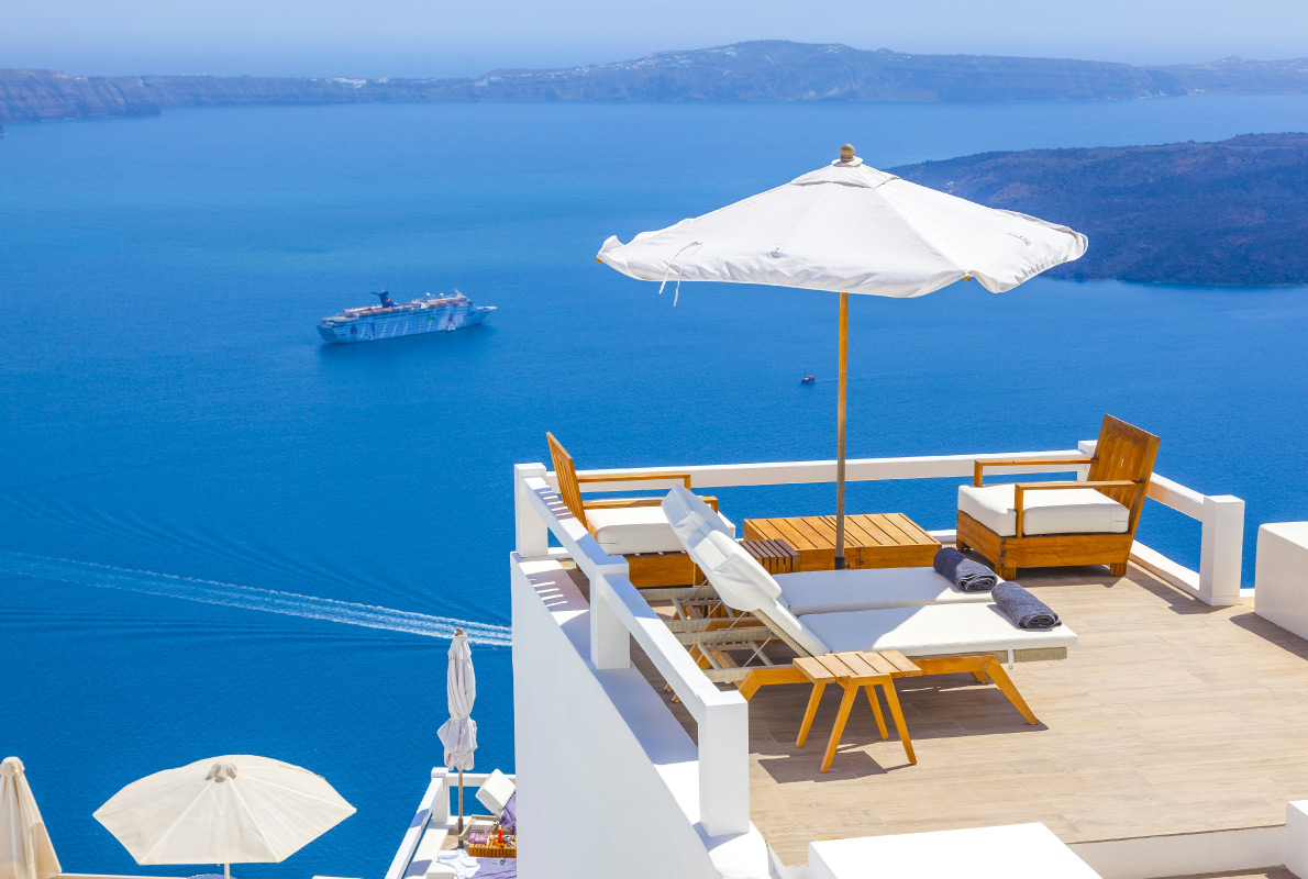 Santorini - Best Cruises destinations in Europe - Copyright Korpithas - European Best Destinations