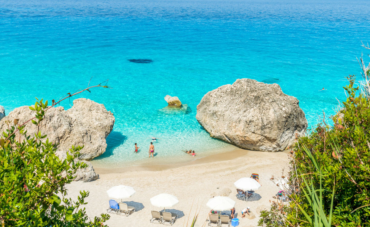 Best beaches in Greece - Kavalikefta beach - Lefkada - Copyright Lucian Bolca  - European Best Destinations