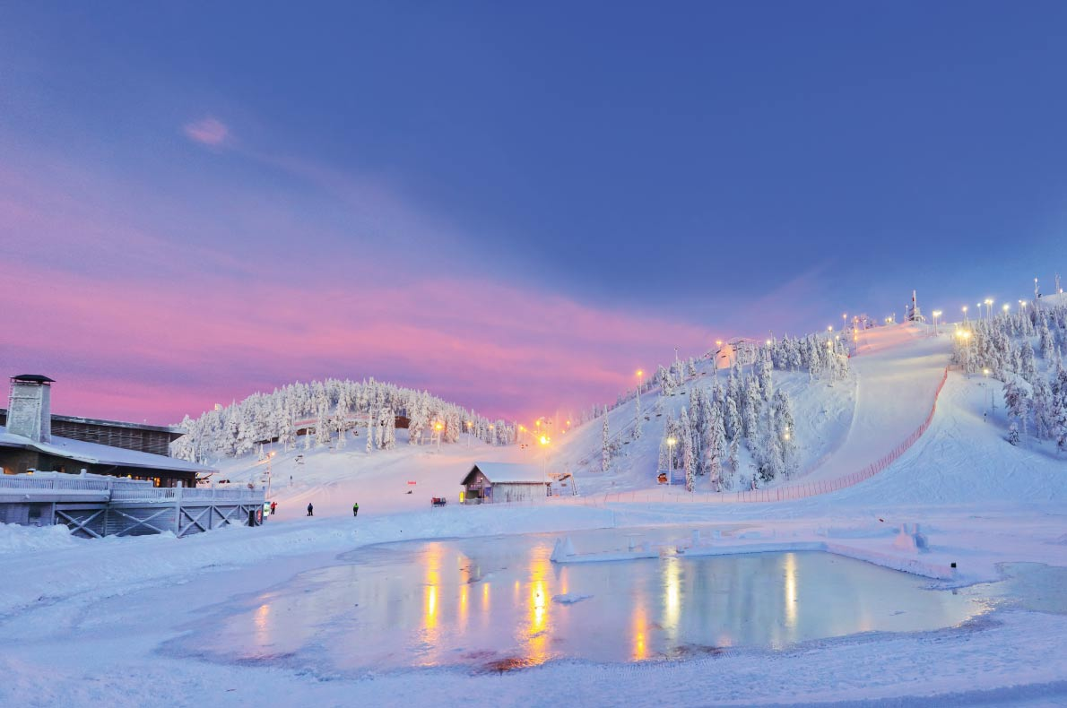 Best snowboard destinations in Europe - Ruka in Finland - Copyright  Max Topchii - European Best Destinations