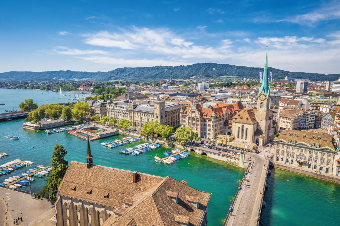 Safest destinations in Europe - Zurich Copyright canadastock