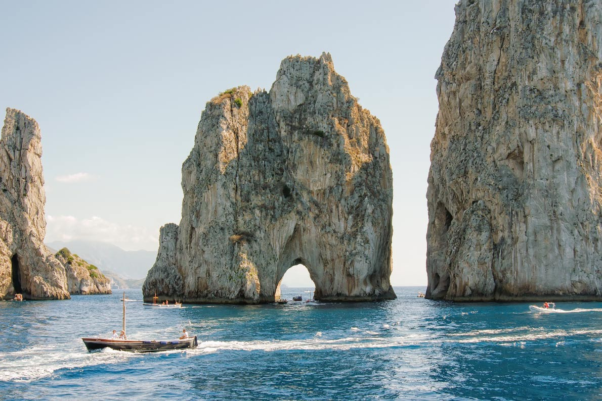 Most beautiful landscapes in Europe  - Capri Copyright Reidl