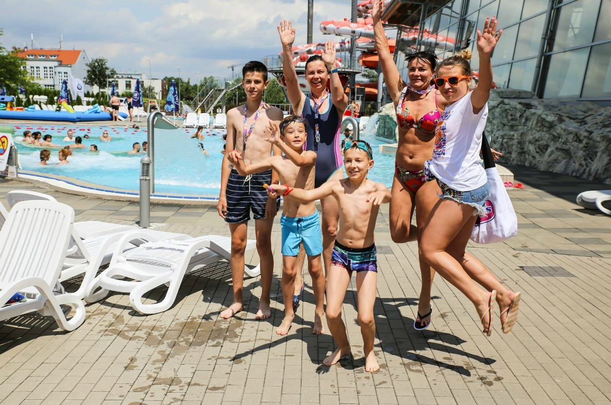 Best things to do with kids in Wroclaw - Aquapark