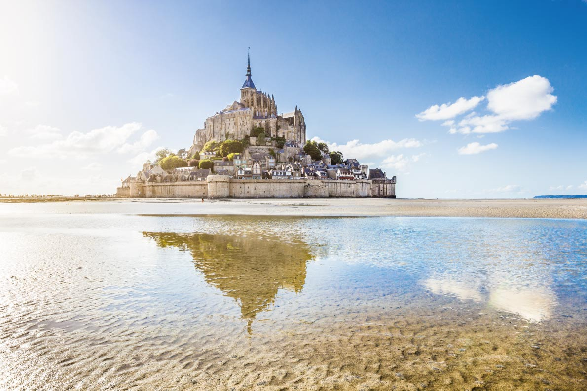 Most Beautiful Landscapes In Europe Le Mont Saint Michel Copyright Canadastock European Best
