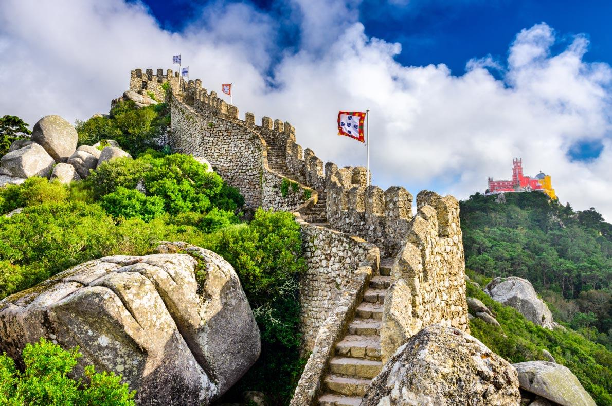 Best Castles in Europe - Sintra Castle Copyright  Sean Pavone  - European Best Destinations