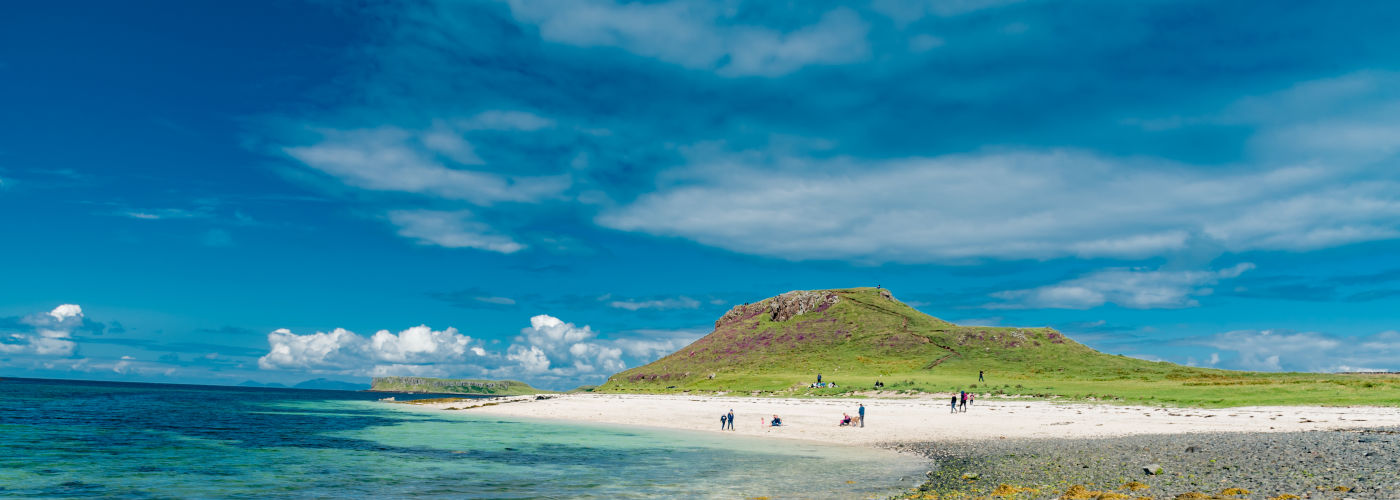 Beest beaches in Scotland