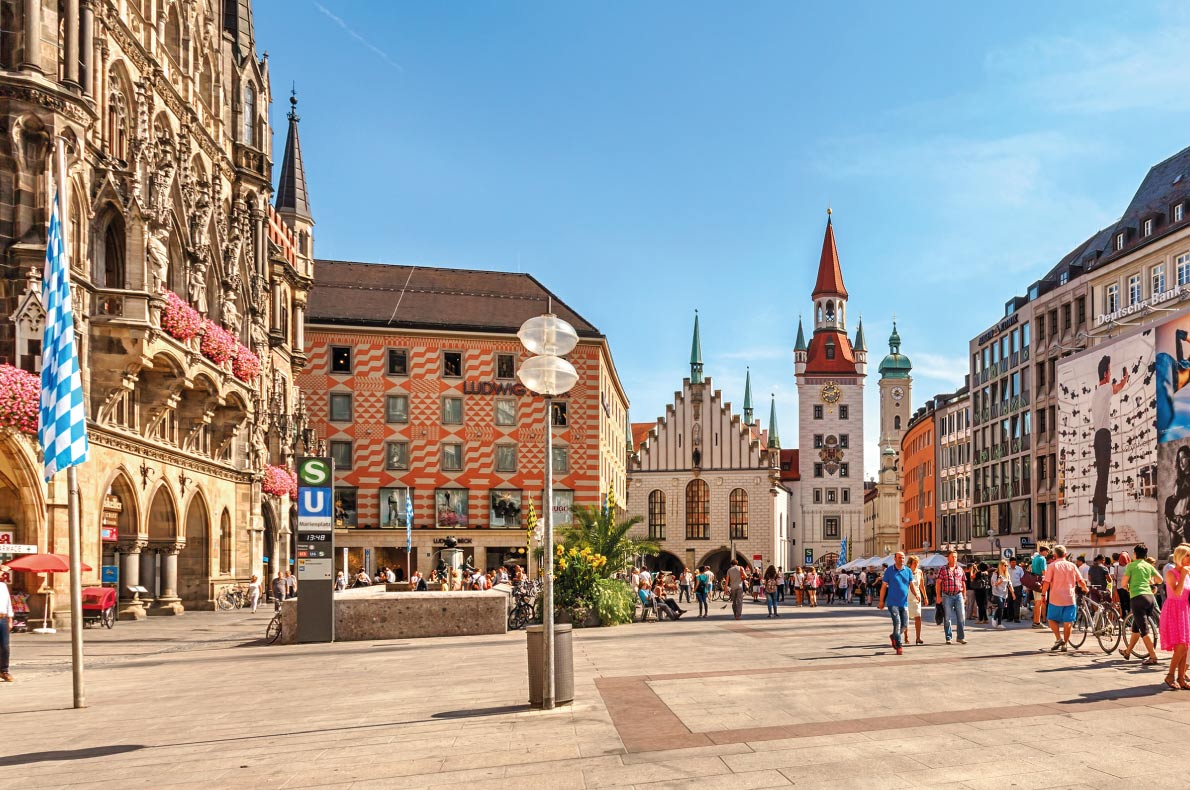 Quietest destinations in Europe - Munich copyright BAHDANOVICH ALENA Shutterstock