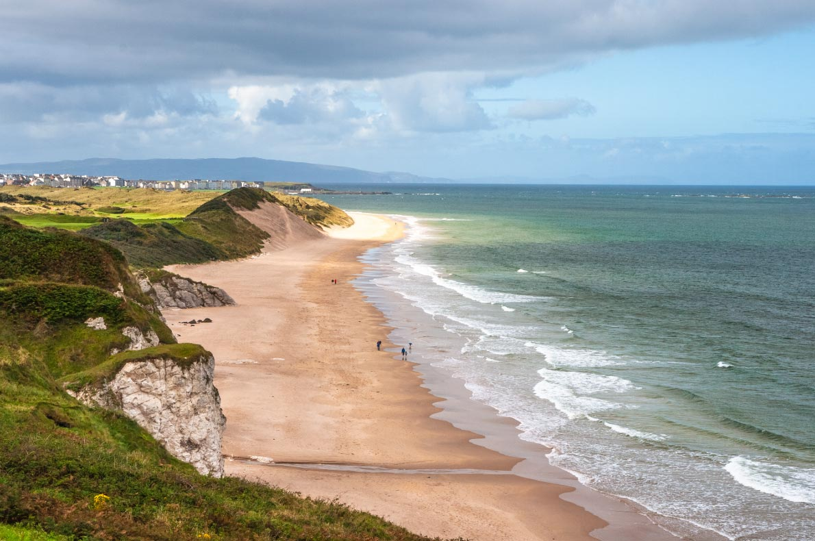 Best beaches in Ireland - Whiterocks beach copyright  Monicami - European Best Destinations