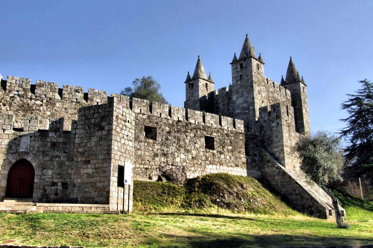 Best Castles in Portugal - Santa Maria da Feira Castle Copyright  Vector99 - European Best Destinations
