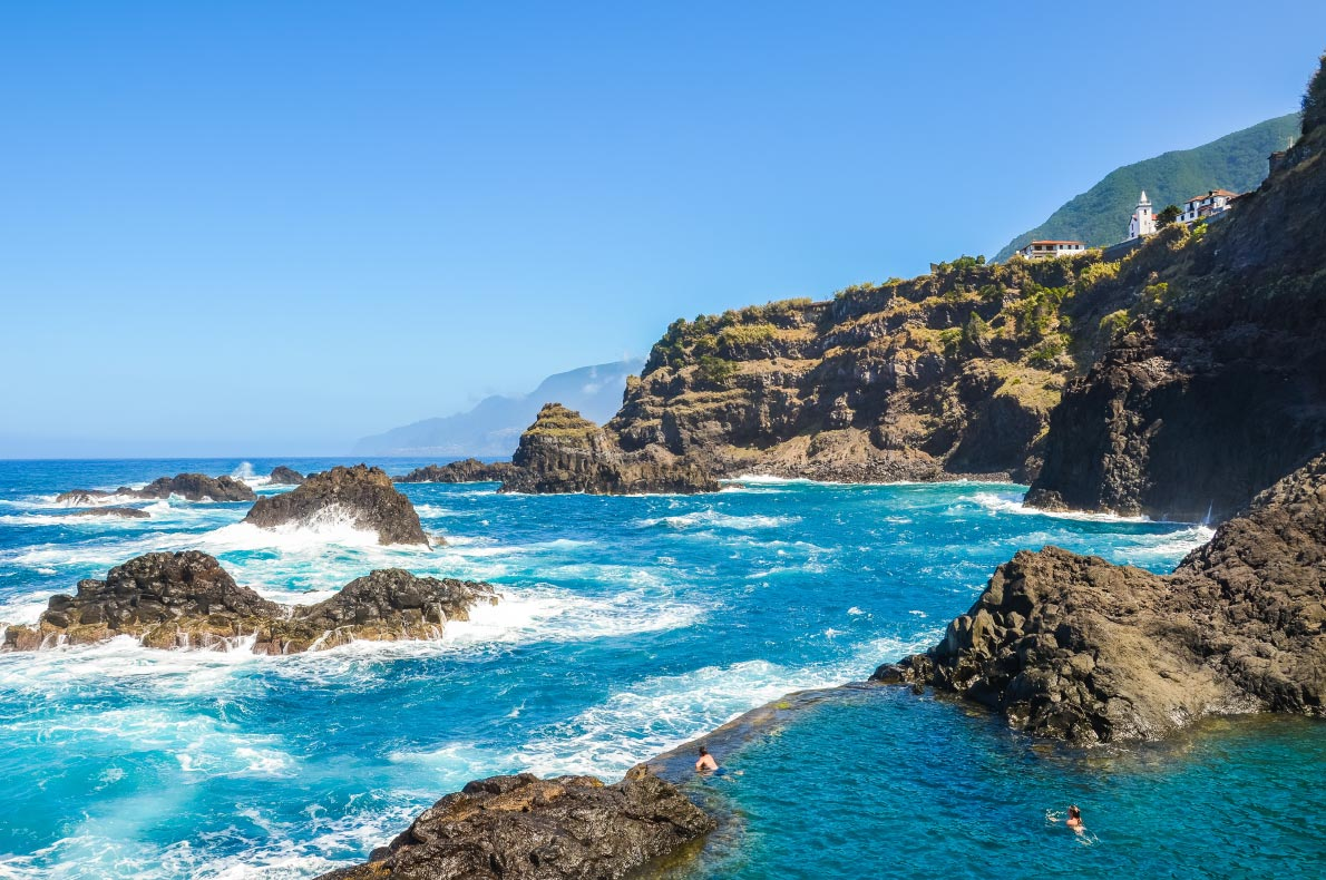 Best pools in Madeira -   Seixal Pool - Copyright Petr-Pohudka
