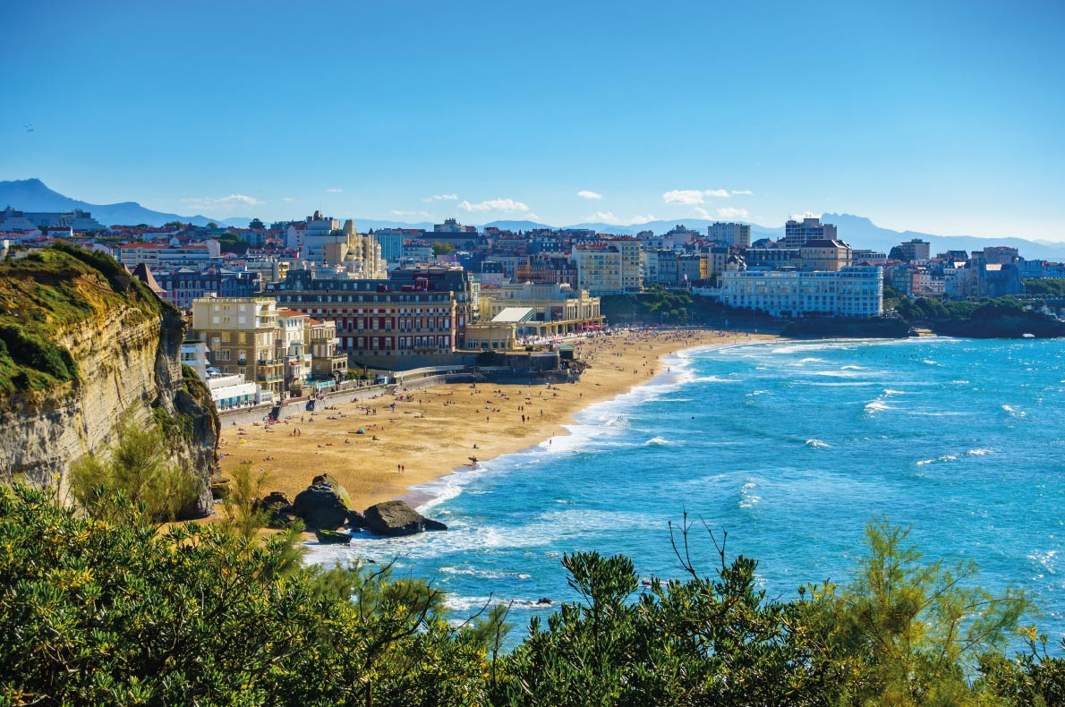 Grande Plage de Biarritz  - Best beaches in Europe - Copyright  Dutourdumonde Photography