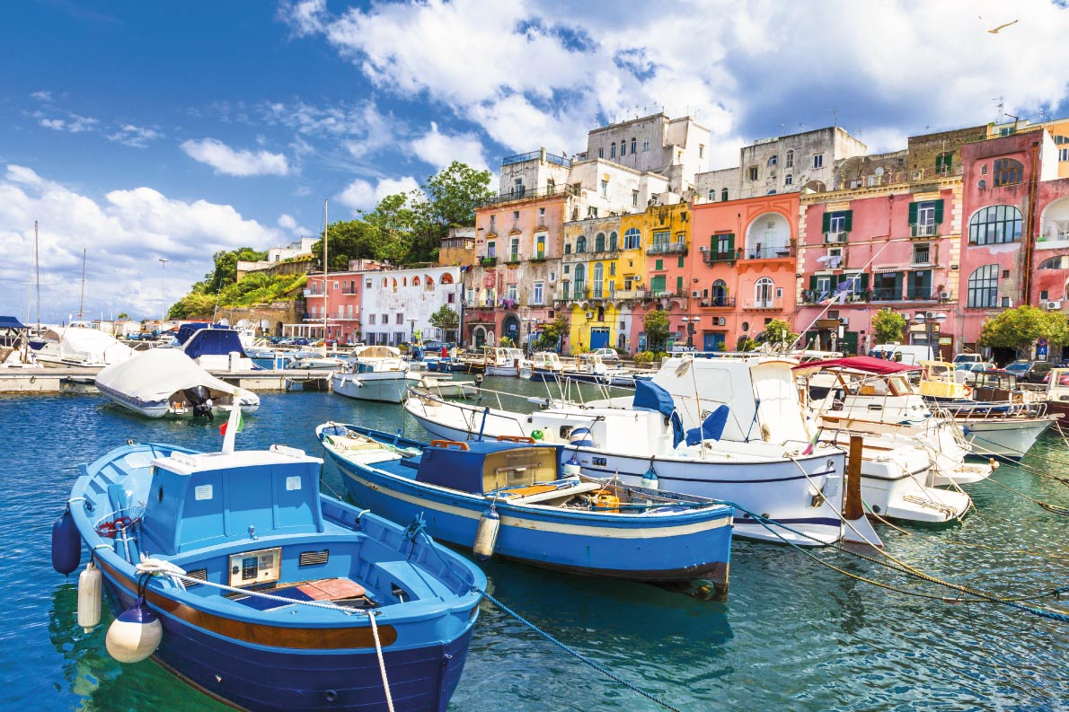 Colorful European Destinations - beautiful Italian islands - Procida (Campania) Copyright Leoks - European Best Destinations