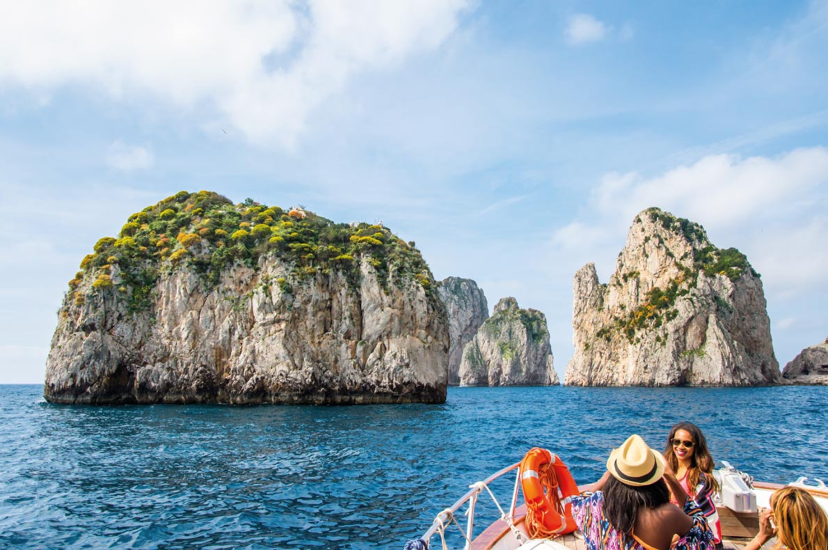 Capri  Paradisiacal  destinations in Europe Copyright  Boris-B Shutterstock.com - European Best Destinations