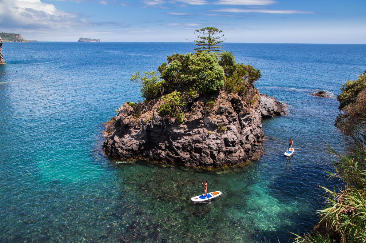 Best sustainable destinations in Europe - Azores Stand up Paddle Copyright RavenEyePhoto    - European Best Destinations