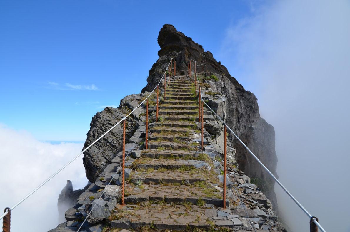 Pico de Areeiro in Madeira - Best trekking destinations in Europe - Copyright Valery Balabukha - European Best Destinations