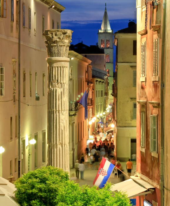 Zadar-romantic-destination-Croatia
