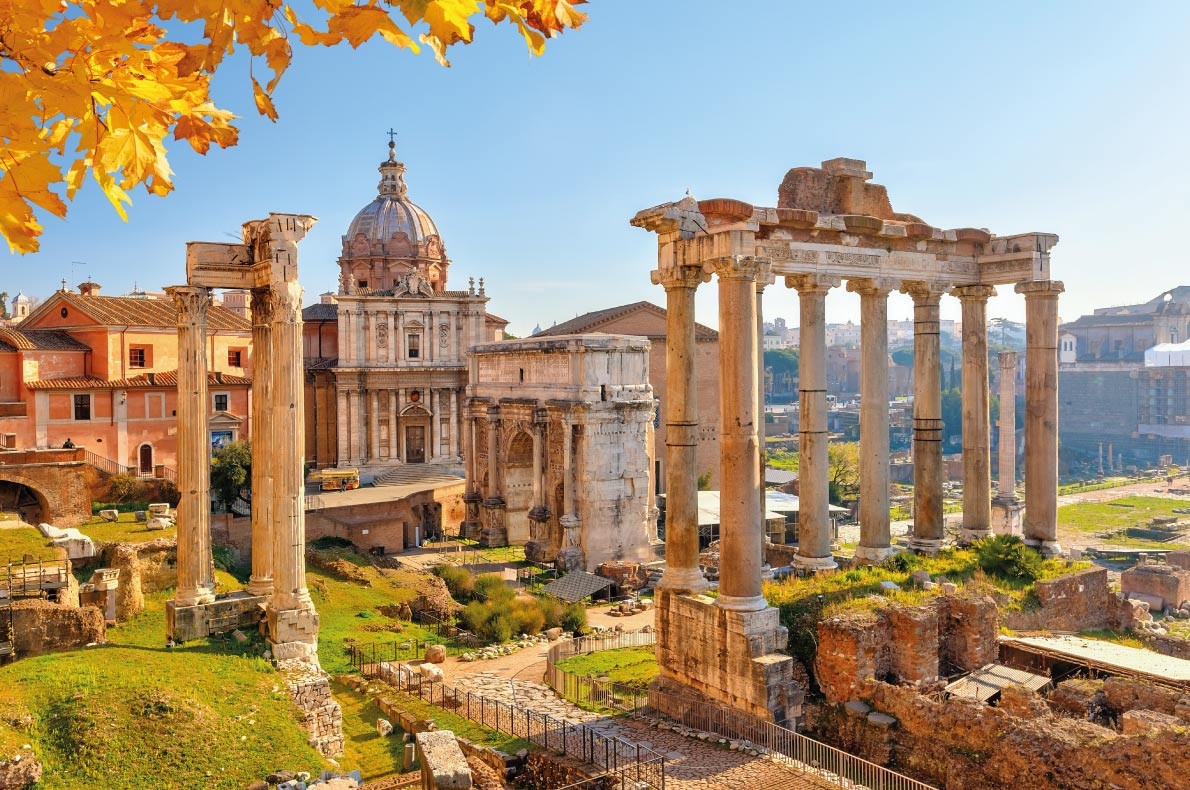 Rome - Best Destinations for fall Autumn in Europe - Copyright S.Borisov - European Best Destinations