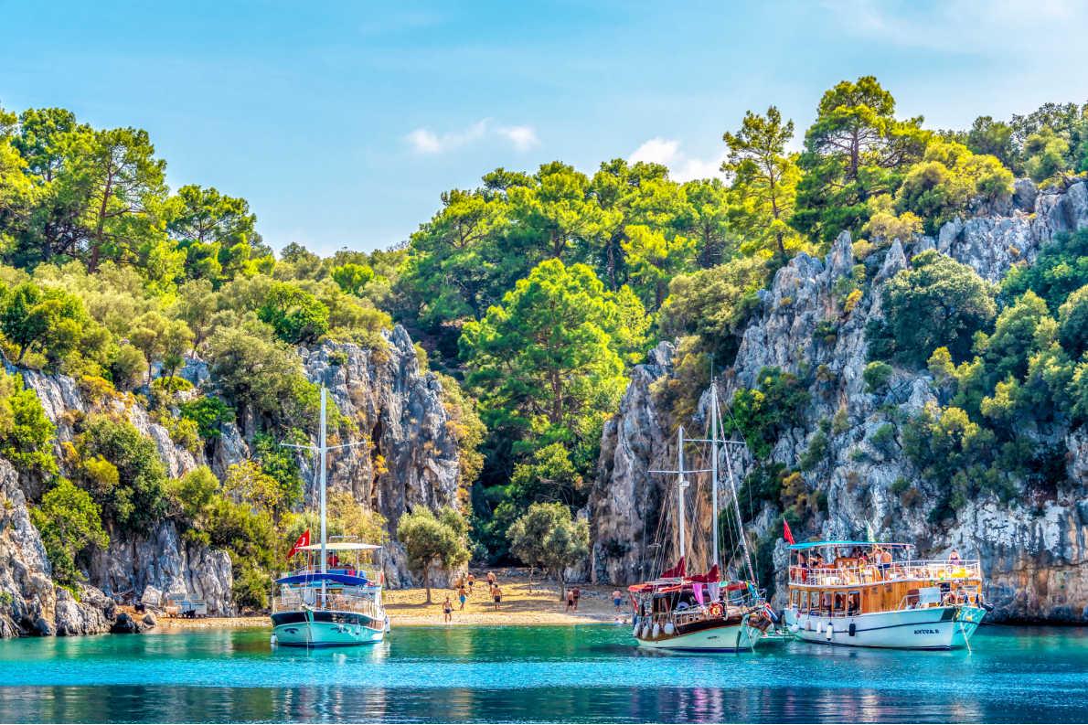 Best beaches in Turkey - Gocek beach in Gocek -  Copyright Nejdet Duzen - European Best Destinations