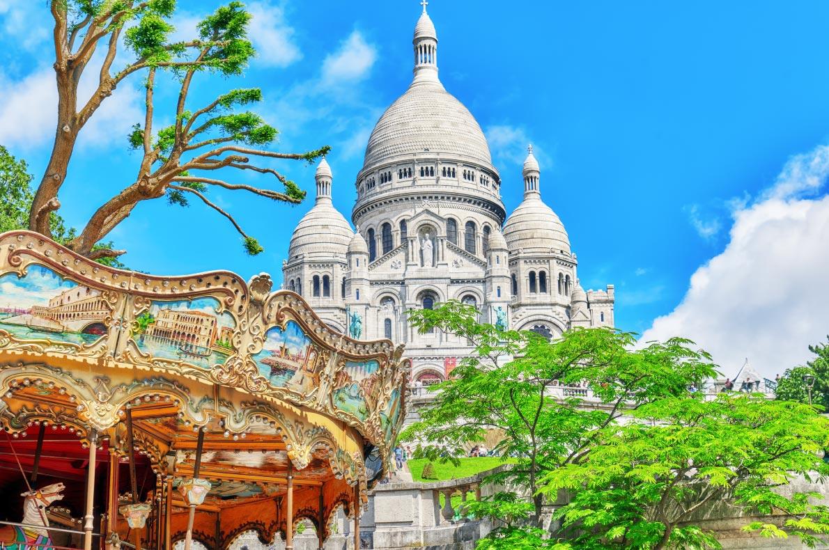 Best places to visit in France - Paris Sacré Coeur Montmartre Copyright  Brian Kinney -  European Best Destinations