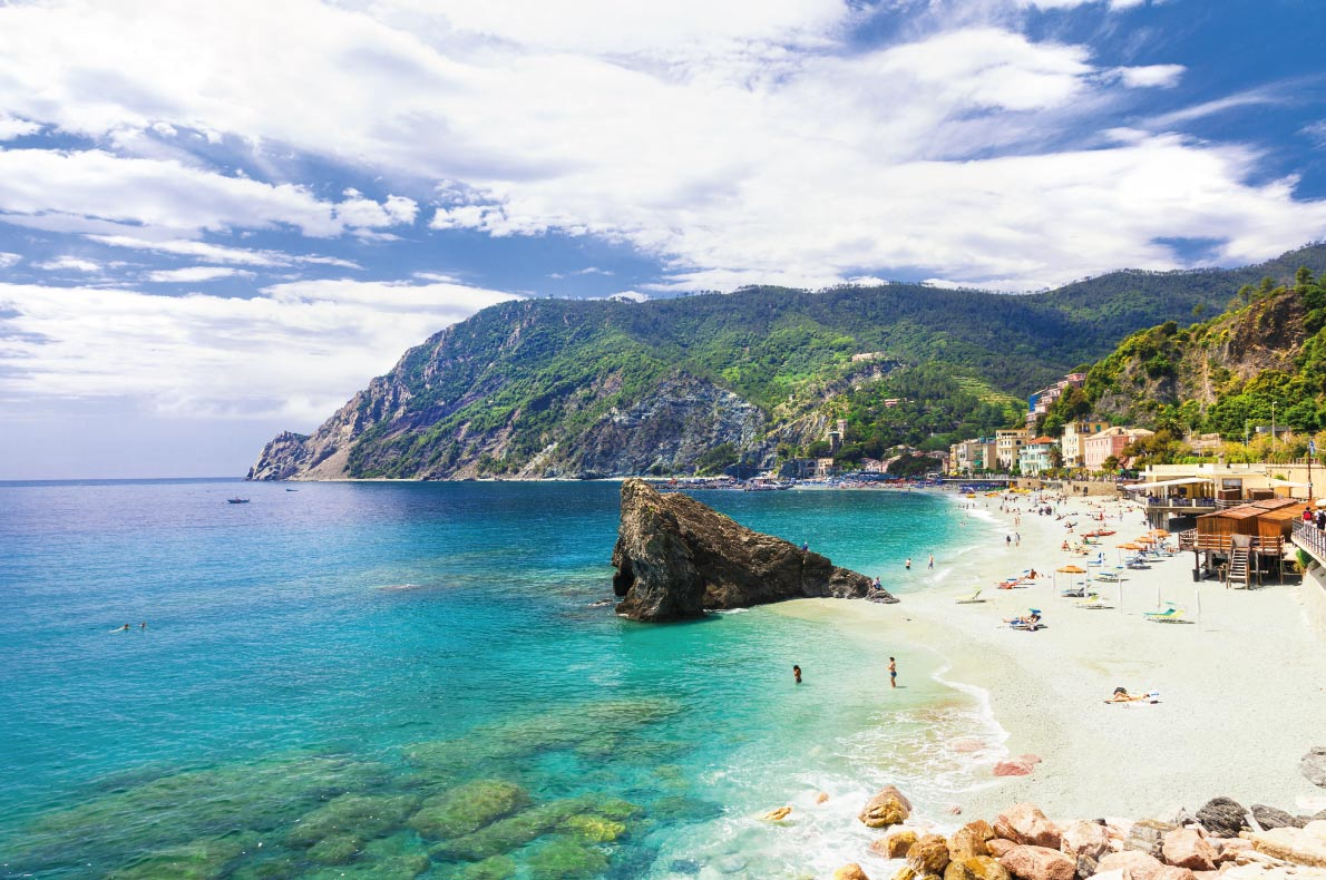 Monterosso al mare  - Best beaches in Europe - Copyright  leoks