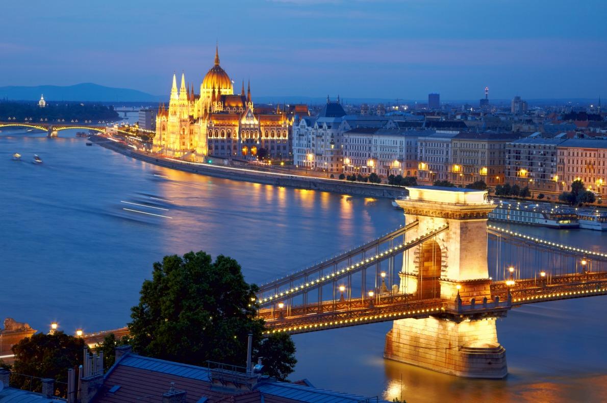 Most beautiful bridges in Europe - Chain Bridge Budapest
