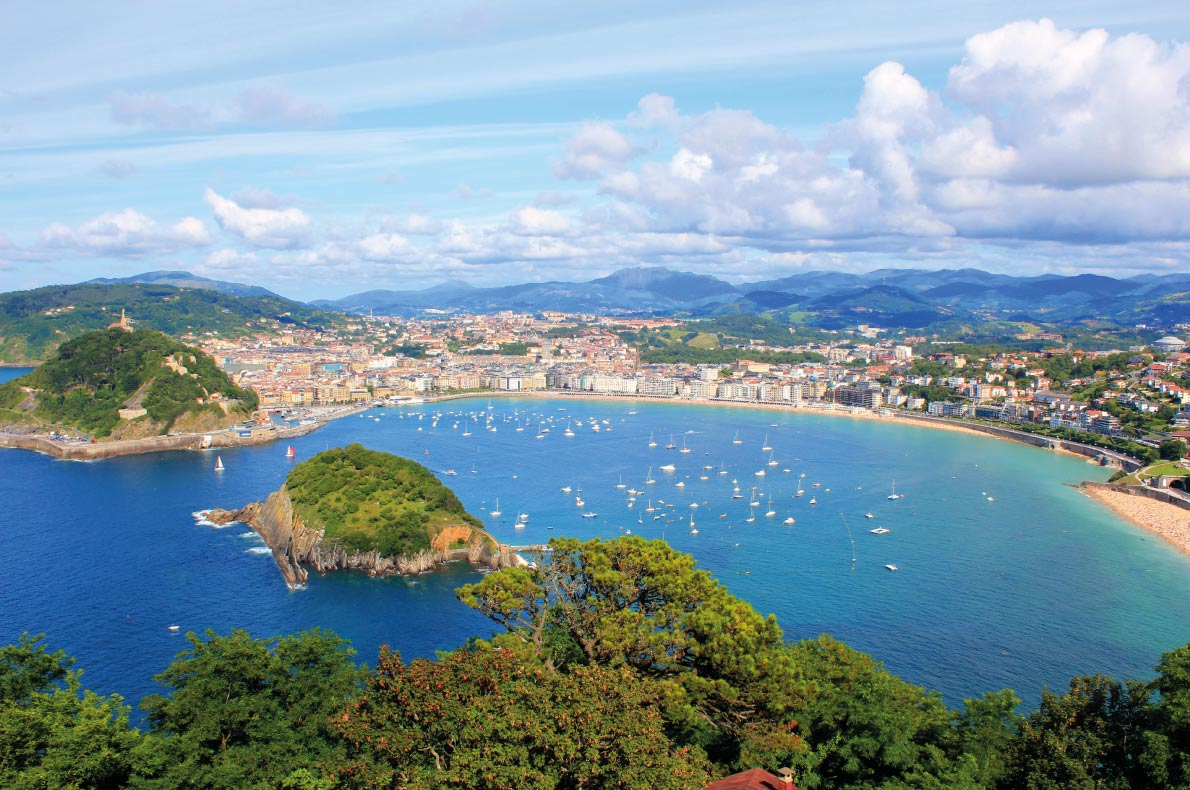 San Sebastian - Best destinations for springtime in Europe - Copyright Dzmitry Melnikau Michal Bednarek