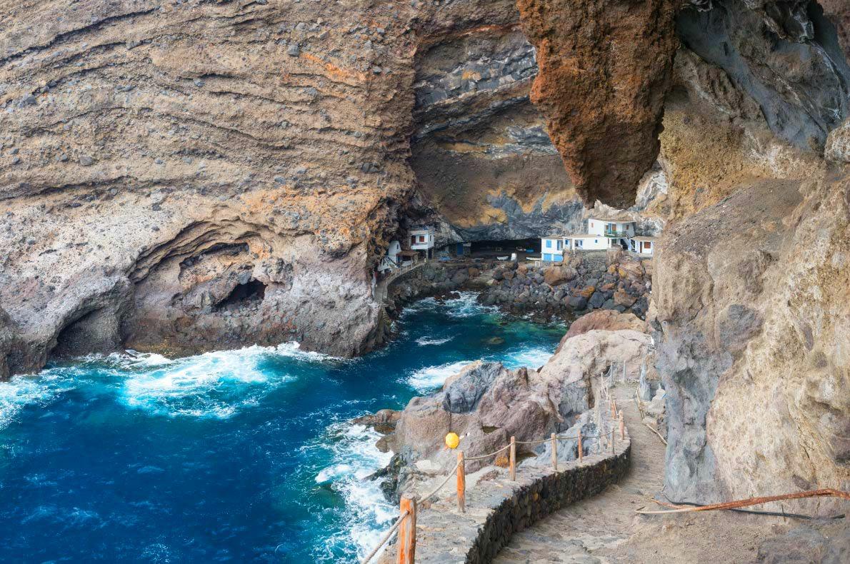 Best hidden gems in Spain - Pirate Cave Poris de Candelaria in Tijarafe - Tenerife - Copyright Michael Thaler -  European Best Destinations