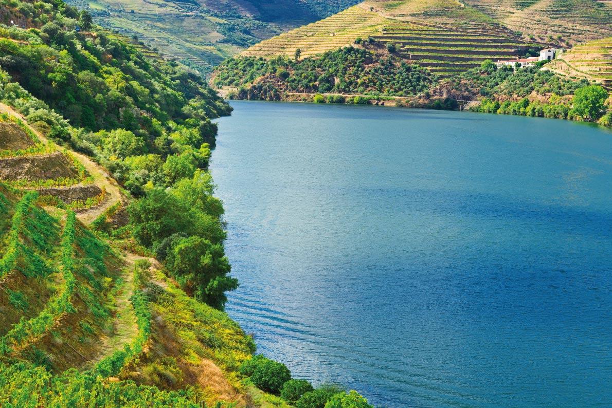 A maioria das paisagens beaufitul da Europa - Vale do Douro Portugal - Melhores destinos da Europa - Copyright gkuna