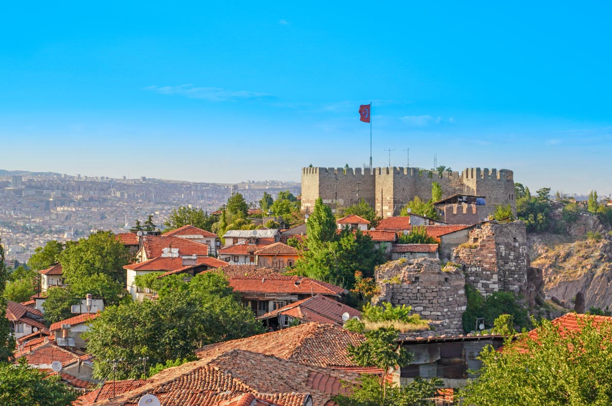 Best Castles in Turkey - Ankara Castle - Copyright Bilal-Kocabas - European Best Destinations
