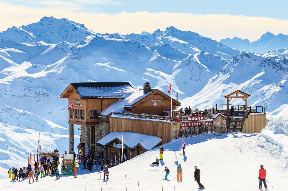Luxurious Ski Resorts - Courchevel - Copyright nikolpetr - European Best Destinations
