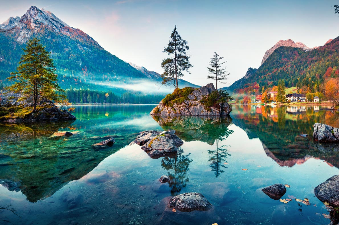 Best things to do in Germany - Hintersee Lake - Copyright Andrew Mayovskyy  - European Best Destinations
