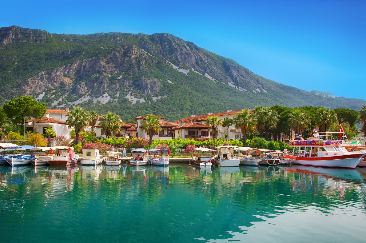 Best places to visit in Turkey - Marmaris copyright Chevtaeva Liudmila