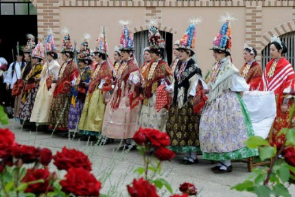 Spring procession in Dakovo