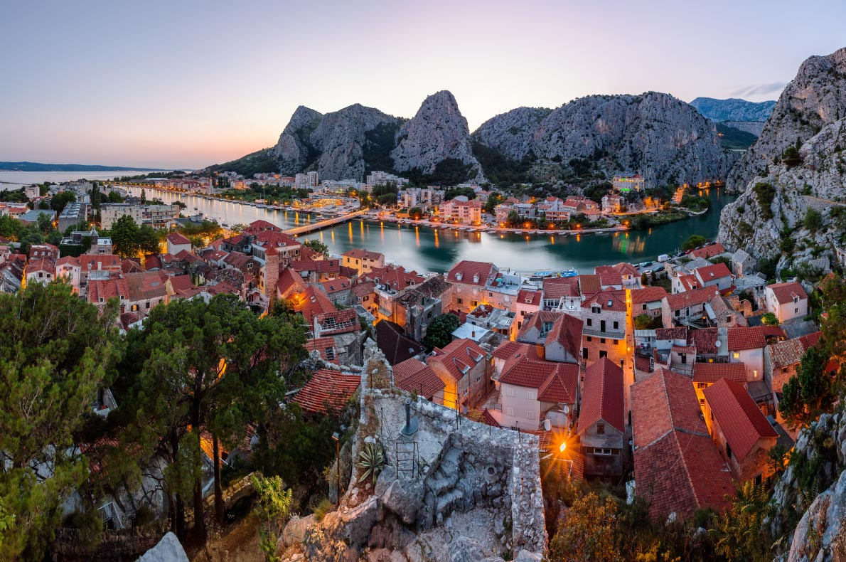 Best hidden gems in Croatia - Omis - Copyright ansharphoto- European Best Destinations