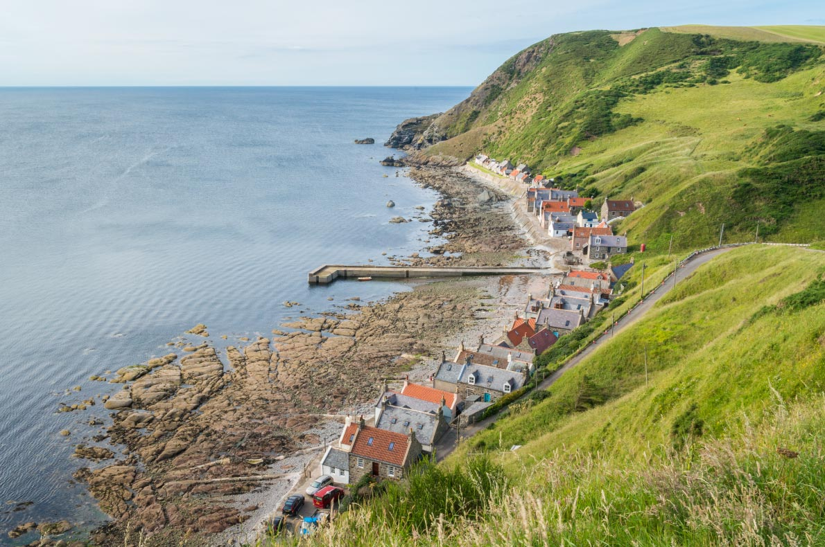 Best places to visit in Scotland - Crovie copyright  Stefano_Valeri  - European Best Destinations