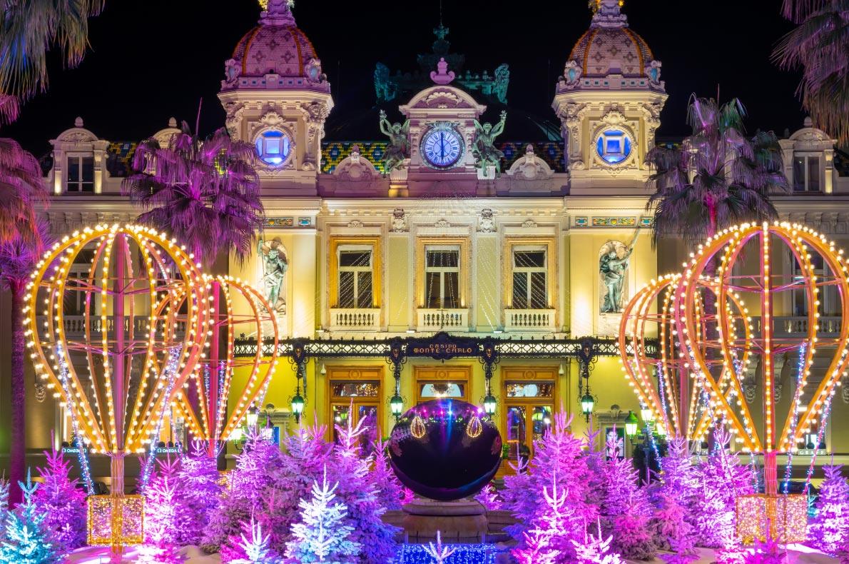 Monte Carlo Christmas Lights - Best Christmas Lights in Europe  - Copyright Rytis Bernotas   - European Best Destinations