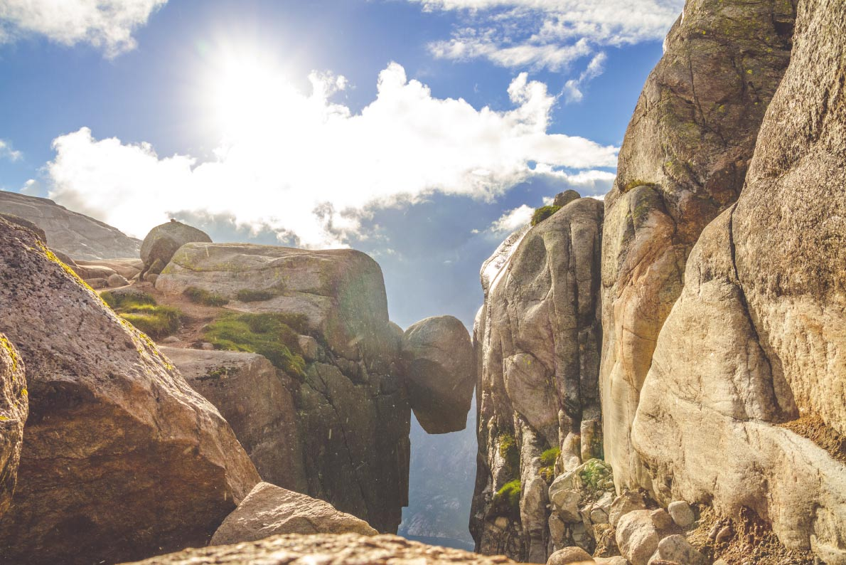 Kjerag in Norway  - Best trekking destinations in Europe - Copyright Fulltimegipsy  - European Best Destinations