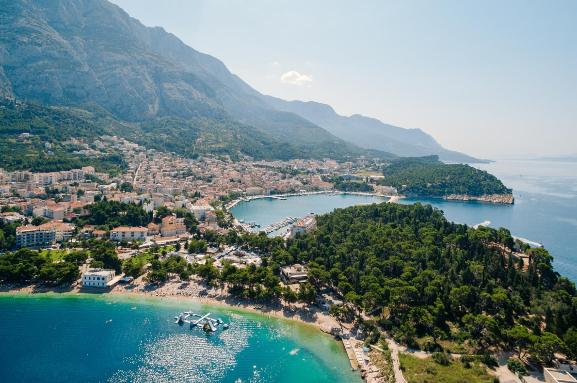 Best beaches in Croatia - Makarska beach - Copyright nadtochiy - European Best Destinations