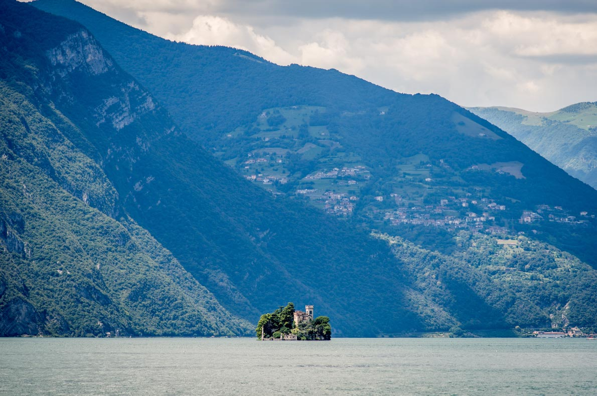 Best natural wonders in Italy - Lake Iseo - Loreto Island - Copyright  UMB-O  - European Best Destinations