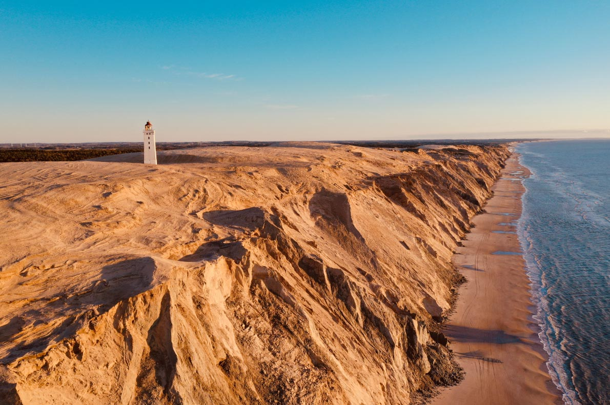 Covid 19 Safest Destinations in Europe - Rubjerg Knude in Denmark - Copyright Christian DK - European Best Destinations